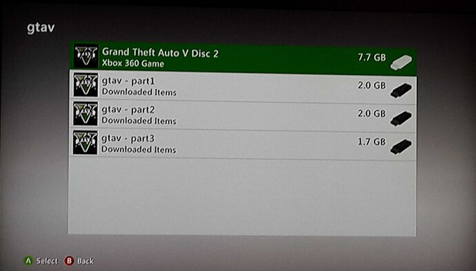Problem with inject god games to my hdd 320gb xbox360 jtag