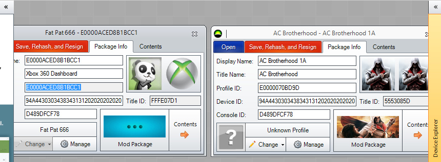 Had an offline Xbox 360 profile with saves, deleted it, now have