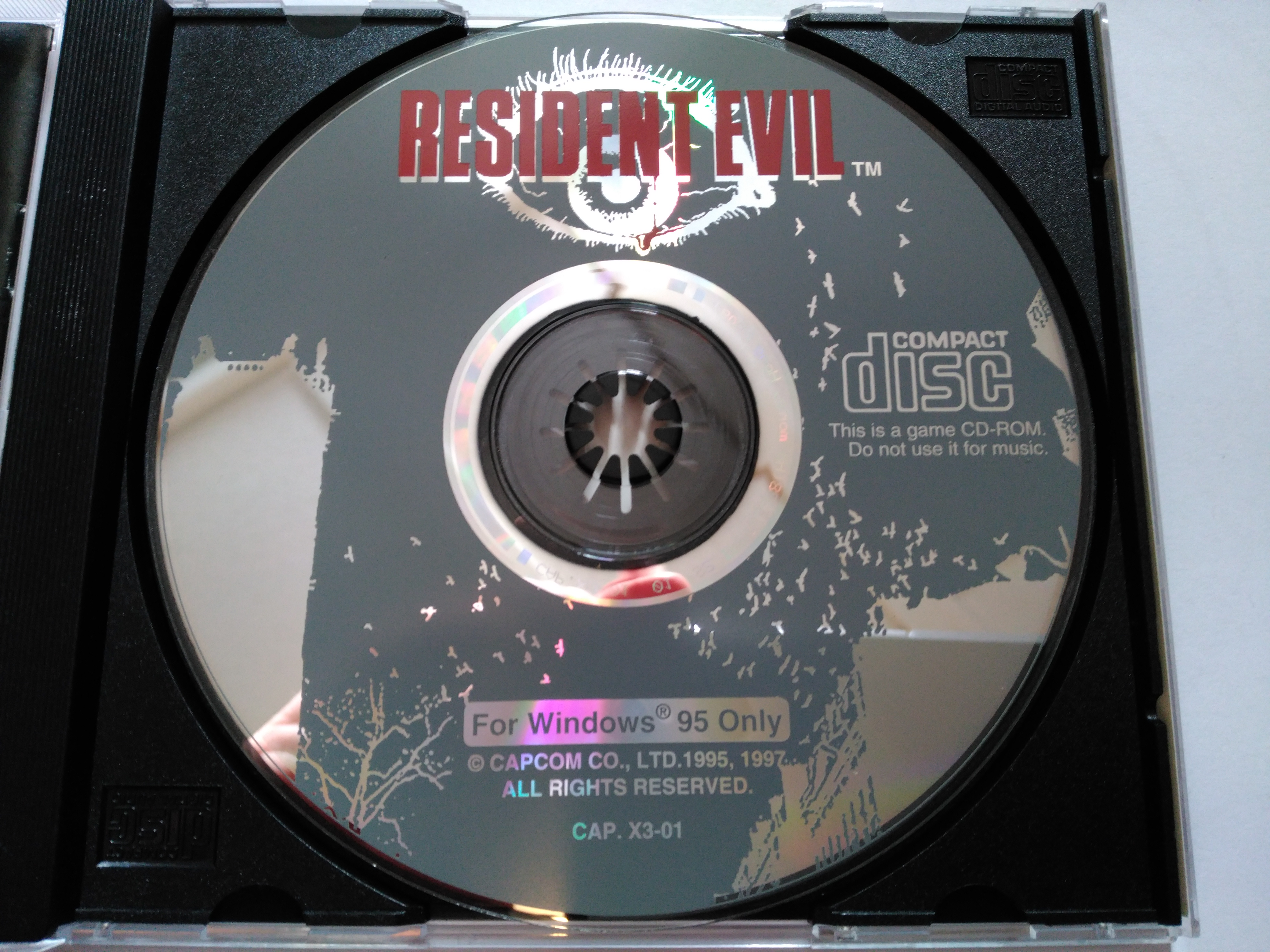 I found this Rare Resident Evil Windows 95 Game - Help me