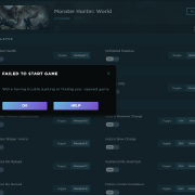 Monster Hunter: World Cheats and Trainer for Steam