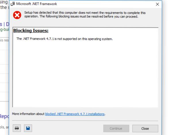 net framework 4.7 - Support - WeMod Community