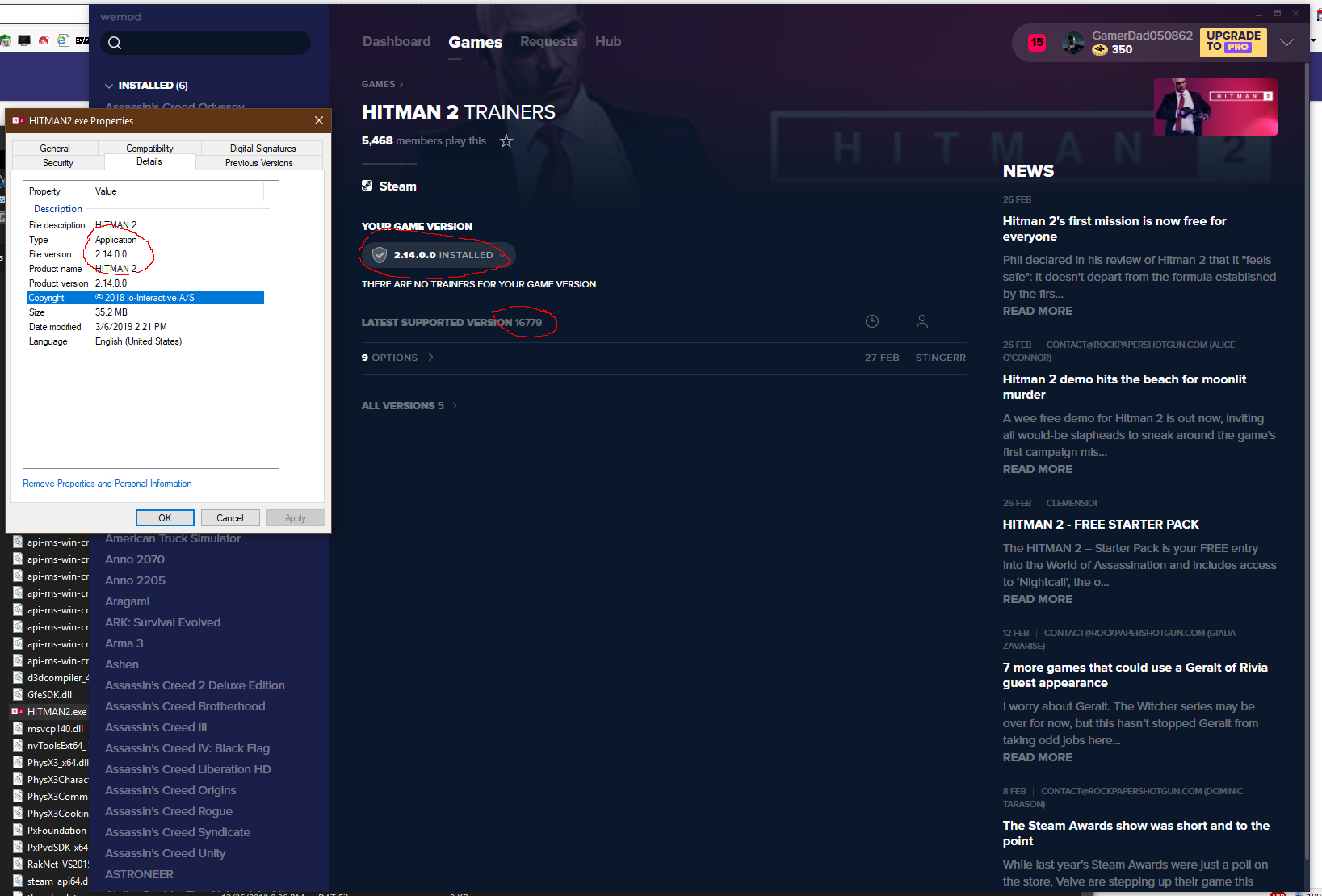Hitman 2 Cheats and Trainer for Steam - Trainers - WeMod