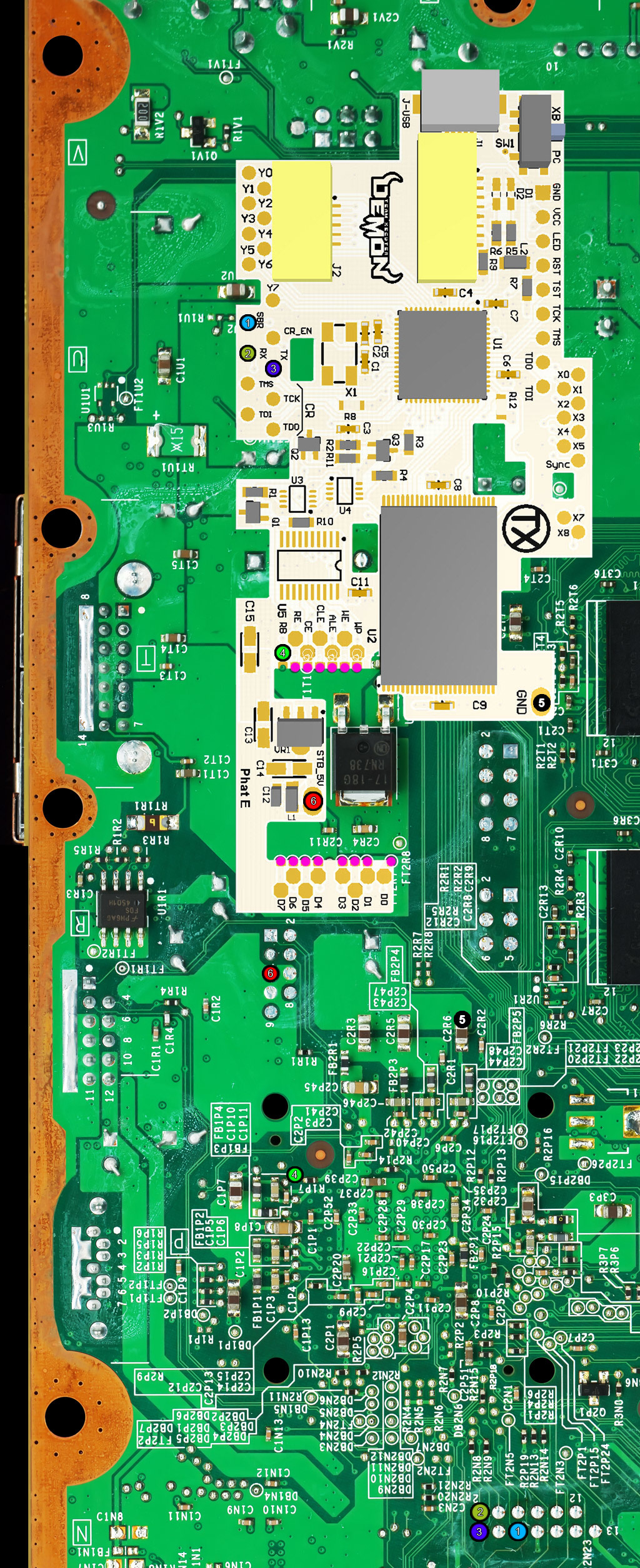 How to install a DemoN dual NAND chip into a Phat or Slim Xbox 360