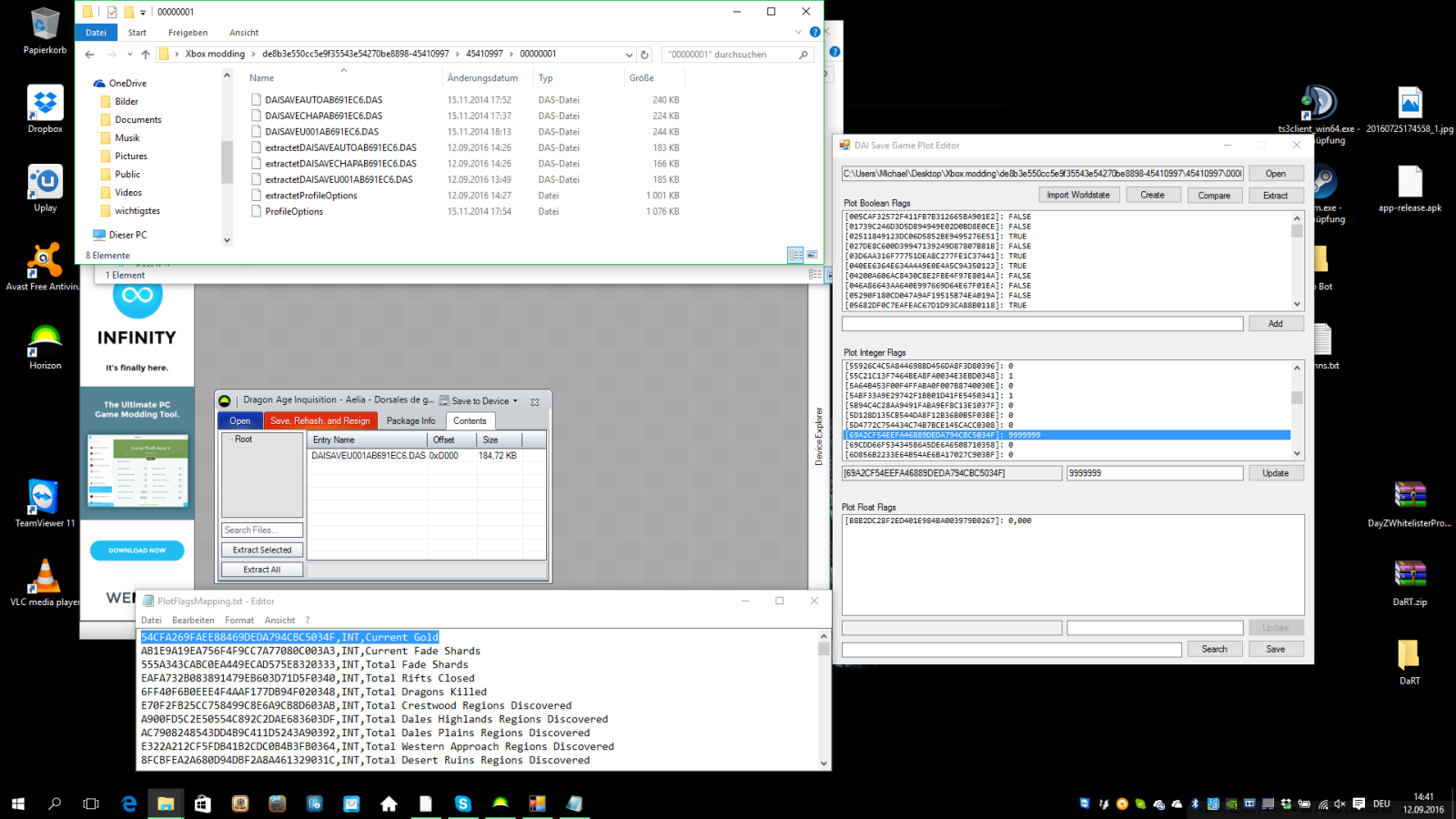 REQ) Dragon Age Inquisition Save Editor - Horizon - WeMod