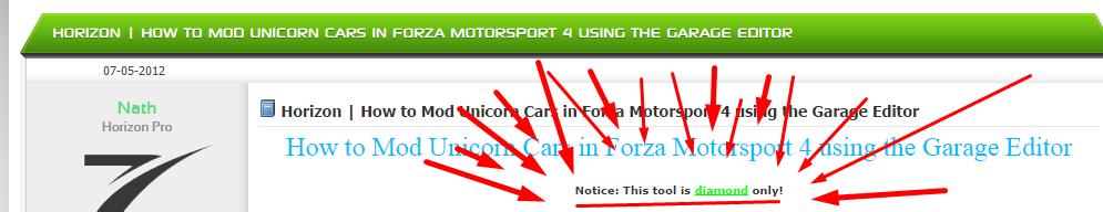Forza Horizon  Buy Cars Problem